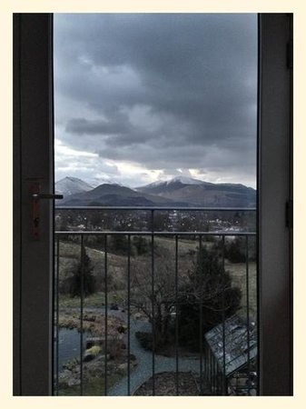 The Lookout Keswick: the view from our window