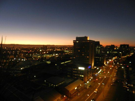 Skybar: great views over WHK