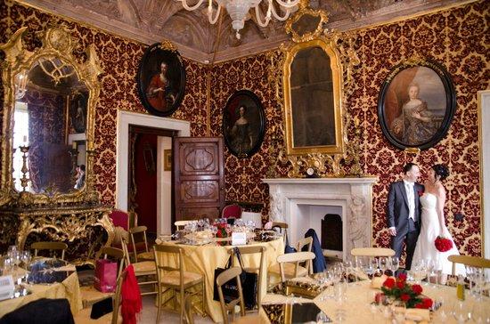 Villa del Principe : salotto d'oro