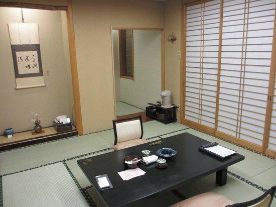 Konjakutei: 今回宿泊した部屋