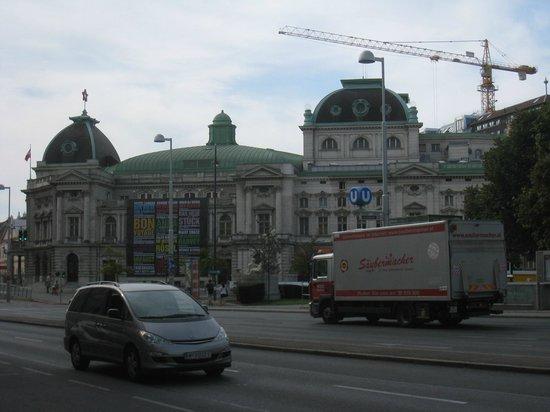 Volkstheater: 外観