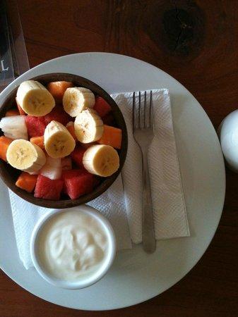 The Cornerhouse: Frutas con joghurt