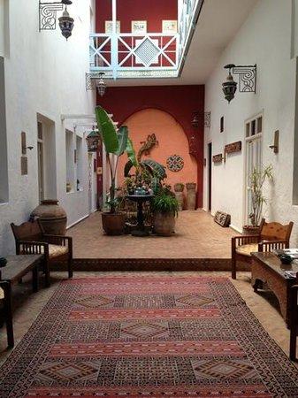 """Riad Watier: le """"patio"""""""