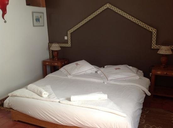 Riad Watier : chambre