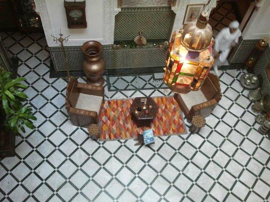 Riad Dar El Kebira : Main lobby