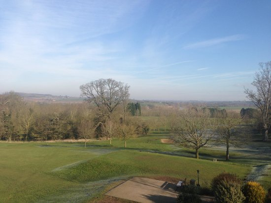Tewkesbury Park: The view from room 127