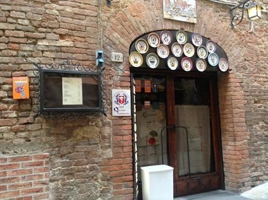 Grotta di Santa Caterina: Da Bagoga - Siena