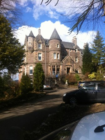 Knock Castle Hotel & Spa: the hotel