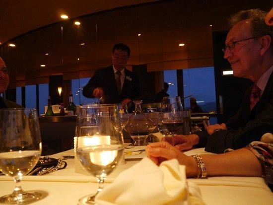 The Point Revolving Restaurant: Attentive service