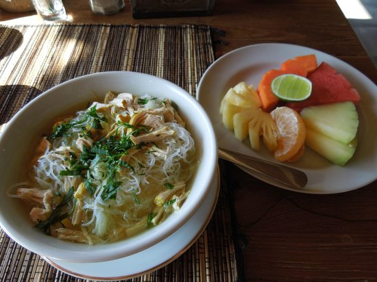 Sri Ratih Cottages: Indonesian porridge for breakfast :)