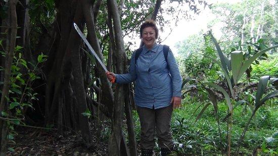 Pacaya Samiria Amazon Lodge: Lookout-Dangerous_woman_in_the_jungle.