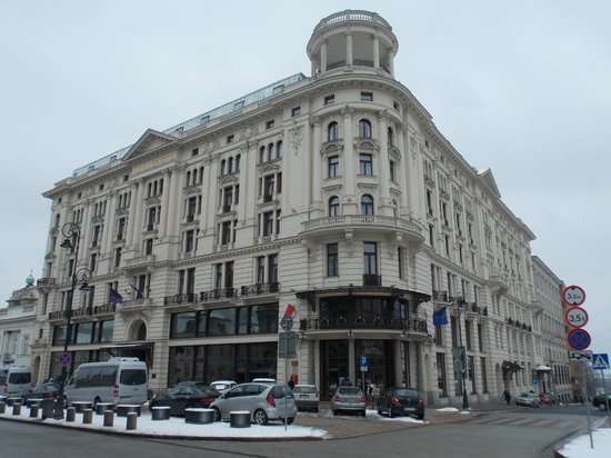Hotel Bristol, a Luxury Collection Hotel, Warsaw : Hotel main view