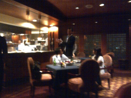 Riva Grill Bar & Terrace: The open kitchen