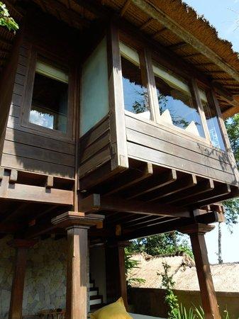 Natura Resort and Spa: the villa from garden