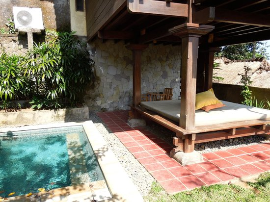 Natura Resort and Spa: Our plunge pool
