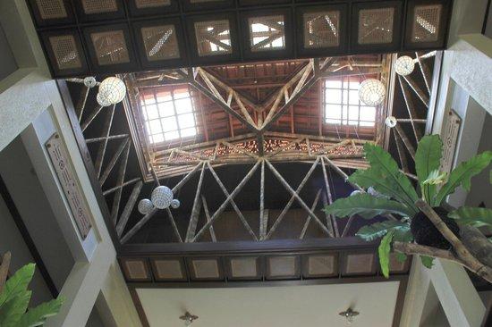 Amarela Resort: Interesting ceilings