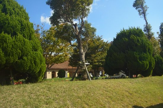 Awaji Farm Park England Hill: entrance