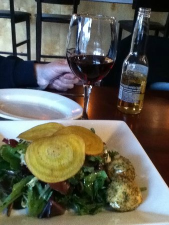 Wine on Third: salad