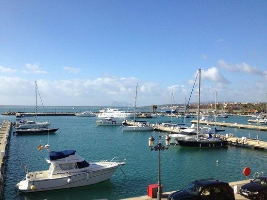 Club Maritimo de Sotogrande: View from the terrace