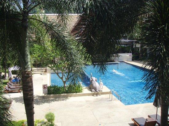Deevana Patong Resort & Spa : Vue de notre balcon