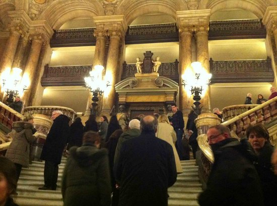 Palais Garnier - Opera National de Paris: Entering Opera Garnier