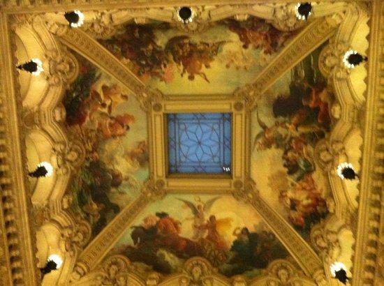 Palais Garnier - Opera National de Paris: Entry ceiling