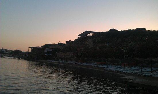 Didim Beach Resort & Spa : Beach area, quite smaller than expected.