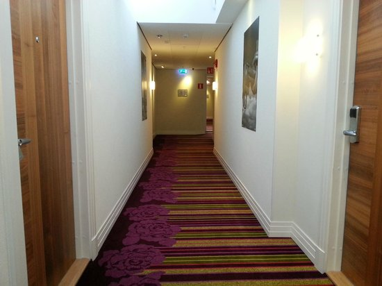 Renaissance Malmo Hotel: Hallway to the room