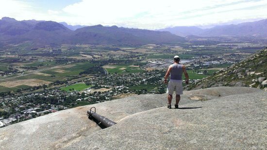 Paarl Mountain Nature Reserve, beautiful panorama views open in front of you
