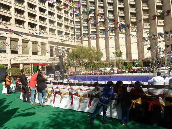 Hyatt Regency Delhi: Терраса