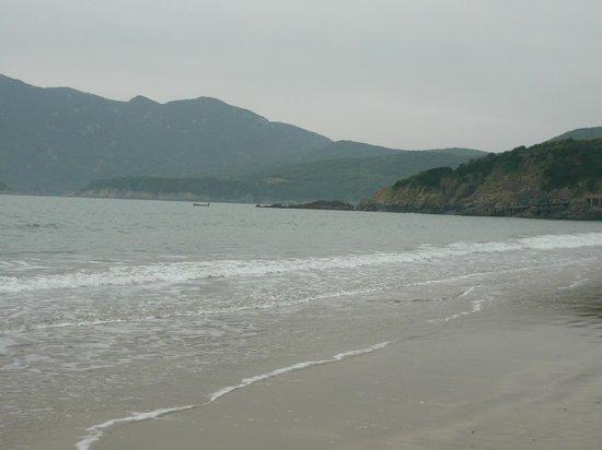 Zhujiajian Island: water