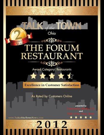 The Forum : Winner 2012