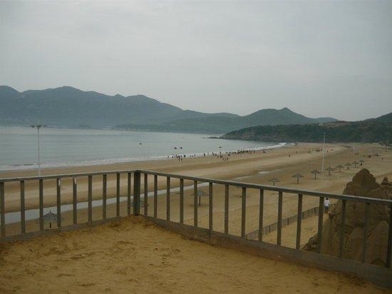 Zhujiajian Island: Beach