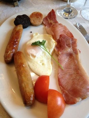 Daly's House: Irish breakfast at The Daly House...superb!