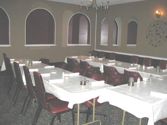 Banquet room at Nick's