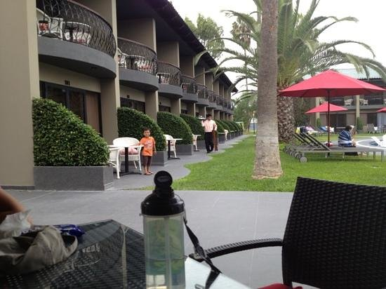 Wyndham Costa Del Sol Trujillo: paseando con la familia...
