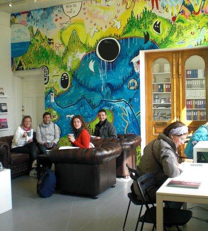 Tromsø Center for Contemporary Art : The info room