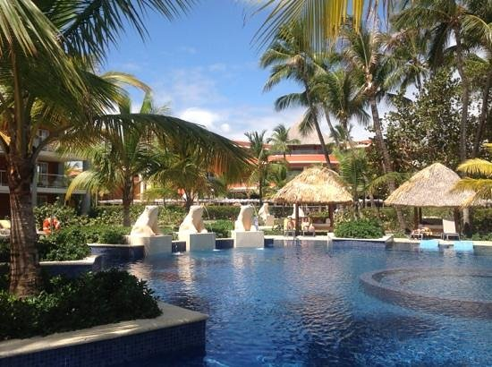 Barcelo Bavaro Palace: adults only pool was a lovely, quiet spot!