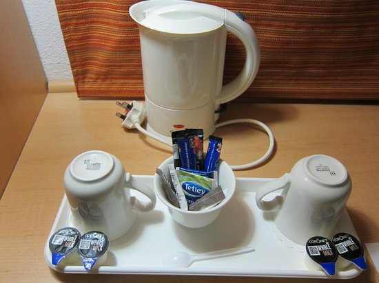 Ibis London Heathrow Airport: Para un café