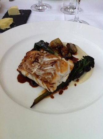 Ockenden Manor Restaurant: cod