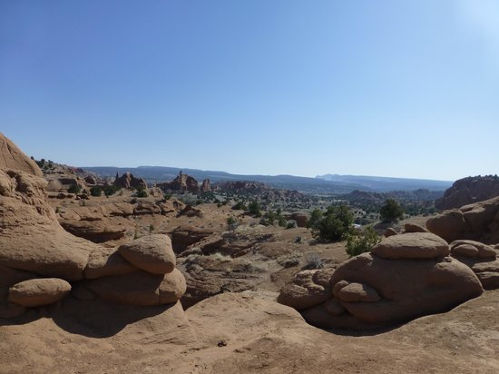 Kodachrome Basin State Park: View from one of the very easy to walk trails