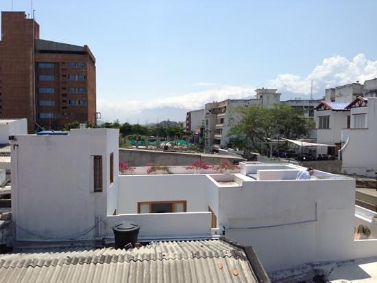La Casa del Agua: terraza vista desde el hotel de al lado