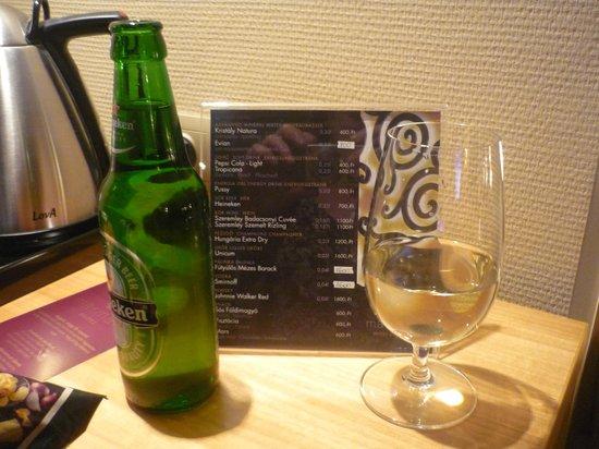 Marmara Hotel Budapest: Nightcap!