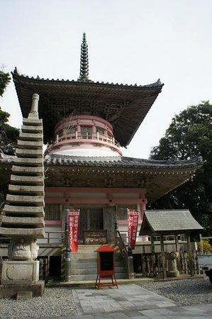 Hotsumisakiji Temple : 多宝塔