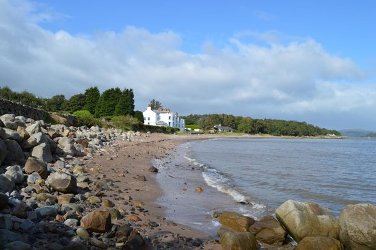 Balcary Bay Country House Hotel: Strand