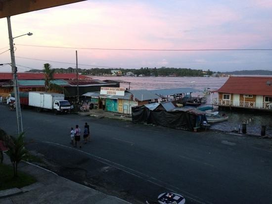 Gran Hotel Bahia: vista atardecer desde balcon hotel