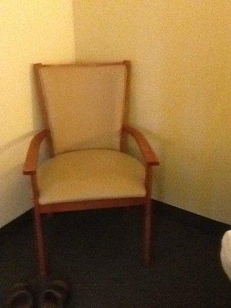 Hampton Inn Phoenix/Scottsdale at Shea Blvd: original chair??