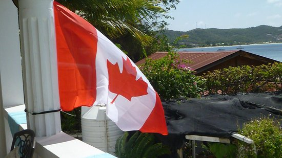 Grand Anse Beach Palace Hotel : Flying our Flag