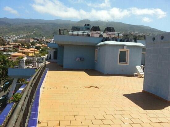 La Quinta Park Suites: terraza habitaciones