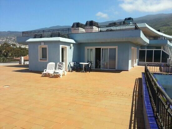 La Quinta Park Suites: terraza